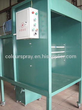portable powder coating booth