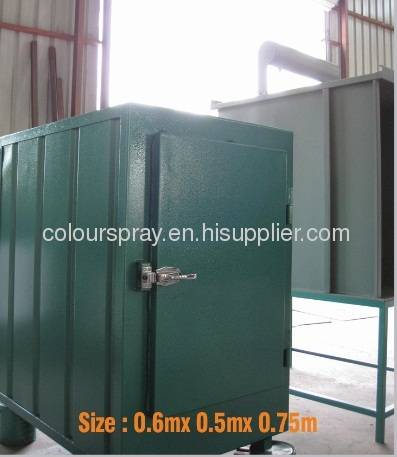Electrical powder curing oven