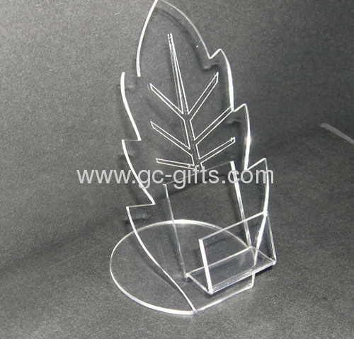 Clear acrylic gifts display cases