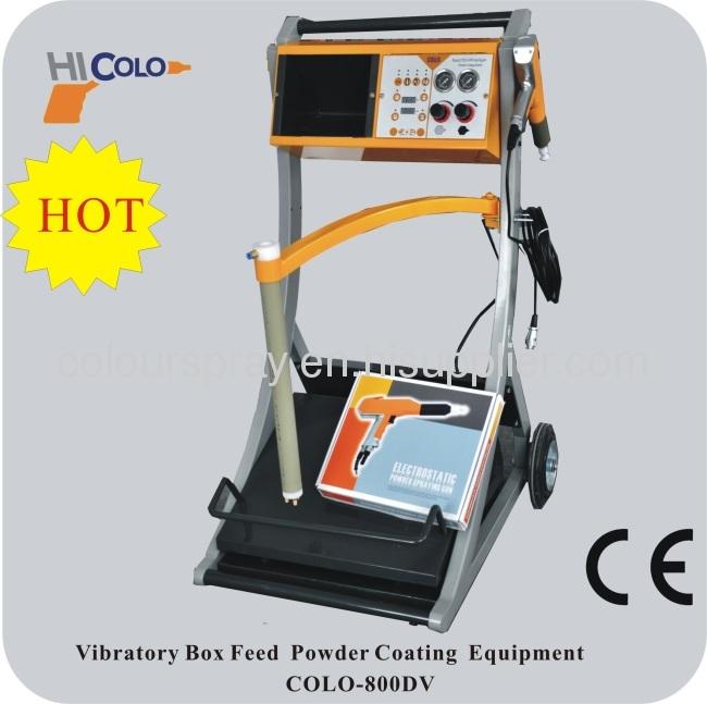 Vibrating Manual Powder Coating Machine
