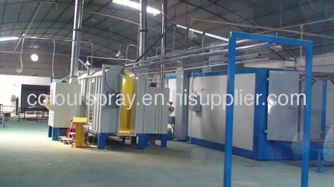 manual powder coating system