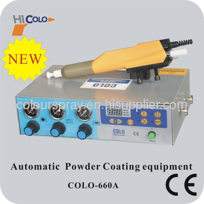 electrostatic auto powder coating machine
