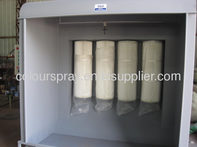 Powder Coating Spray Booth From China Manufacturer