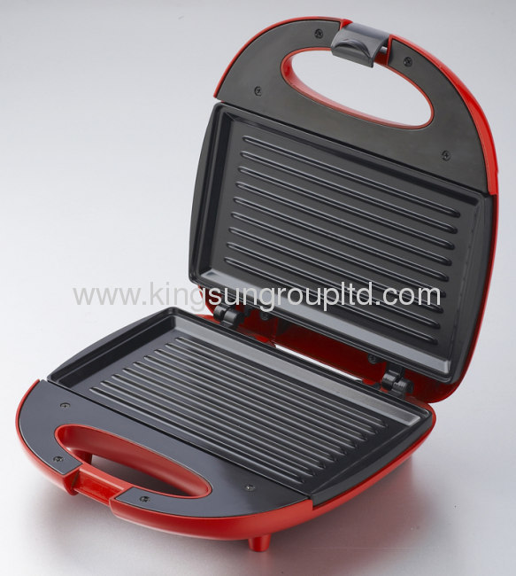 two slice bakelite materailfixed sandwich makerwith grill /waffle plate