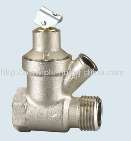 J-202-A brass safety valve for heating