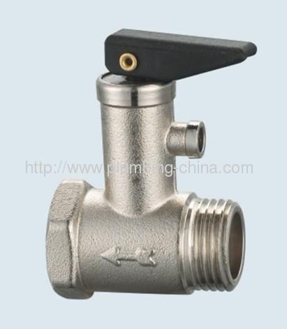 J-203-H brass safety valve for heating