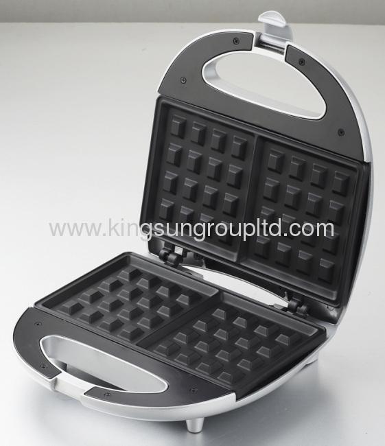 fixed plate sandwich grill waffle maker