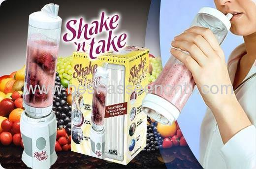 As seen on tvShake n take juice machine multifunctional mini juice mixer cup smoothie cup