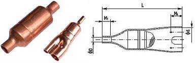 Copper Strainer & Copper Muffler