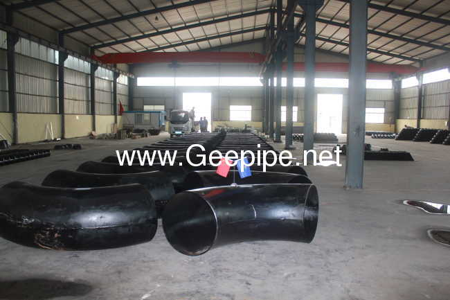 china alloy steelELBOW 90D DN 400 STD BW ASTM A 234 WP1 MSS SP43