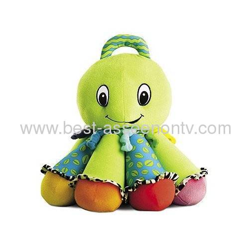 Popular Colorful Musical Inchworm Soft Lovely Developmental Baby Toy free shipping 4pcs/set baby rattle toys