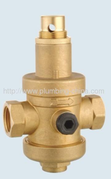 Chrome plated pressure reduce valve