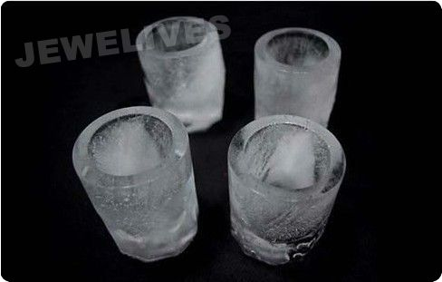 Fashion Silicone Ice Cube Tray for ShooterGlass Mold