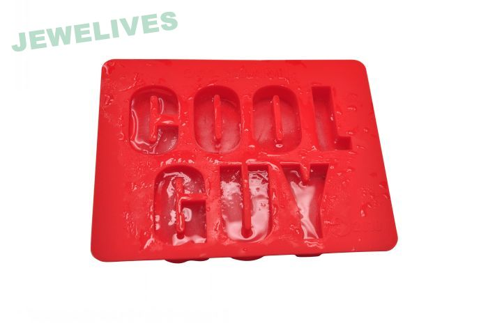Word Shape Silicone Ice Cube