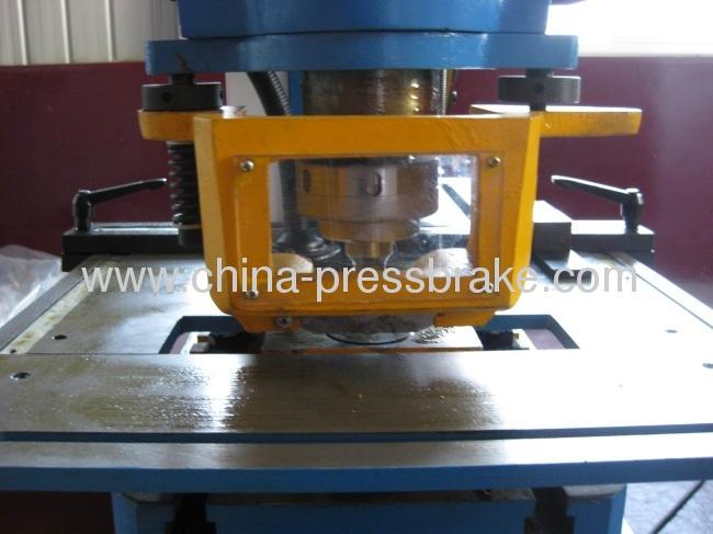 multi functional hydraulic ironworker