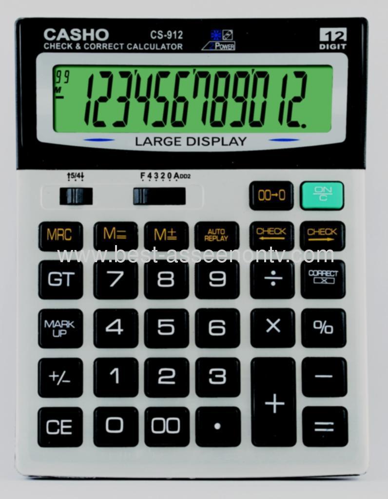 Electronic Transparent Calculato Mini Slim Credit Card Solar Power Pocket Calculator