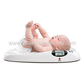Baby Scale Weighing ScaleDigital LCD Display Baby Scale Weighing Scale With built-in Measuring tape