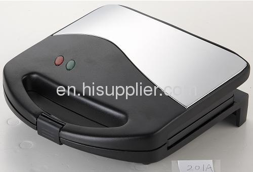 2-slice sandwich maker Fixed / 2 slicetoaster with black and graycolor