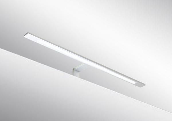 Italy Modern design chrome aluminum 600mm bathroom mirror led light /12W bathroom mirror lamp CE ROHS IP44 110V/220V AC
