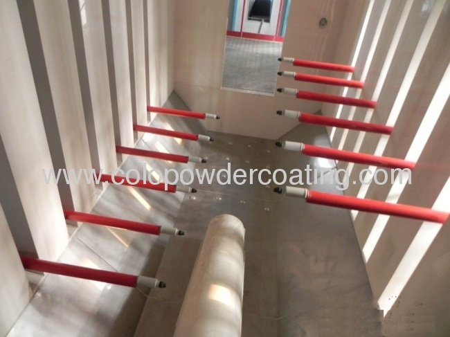 pretreatment of automatic powder coating line