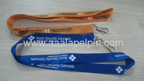 Promotion Nylon lanyards in differentcolor