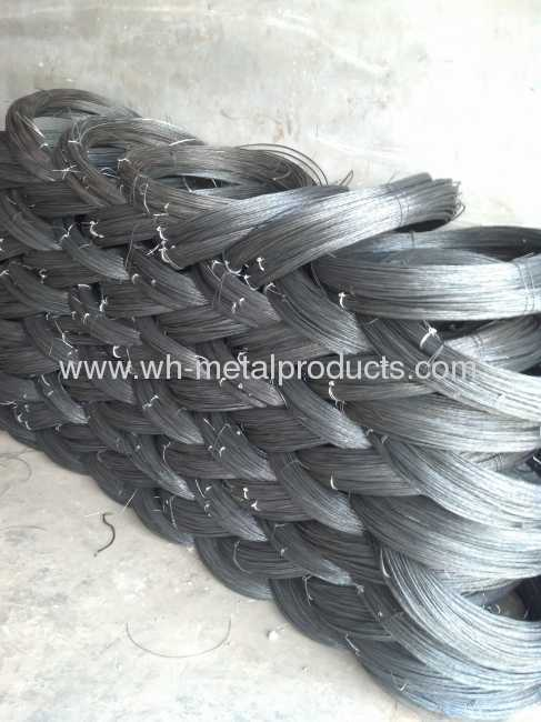 galvanized iron wire on spool