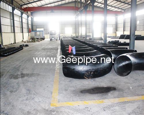 china ASME B 16.9 seamless stainless steel pipe fitting 90 degree long radius 1.5D bott weldingelbow