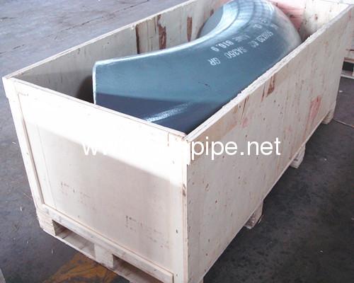 chinaASME B 16.9 seamless pipe fitting 60D long radius 1.5D bott welding elbow