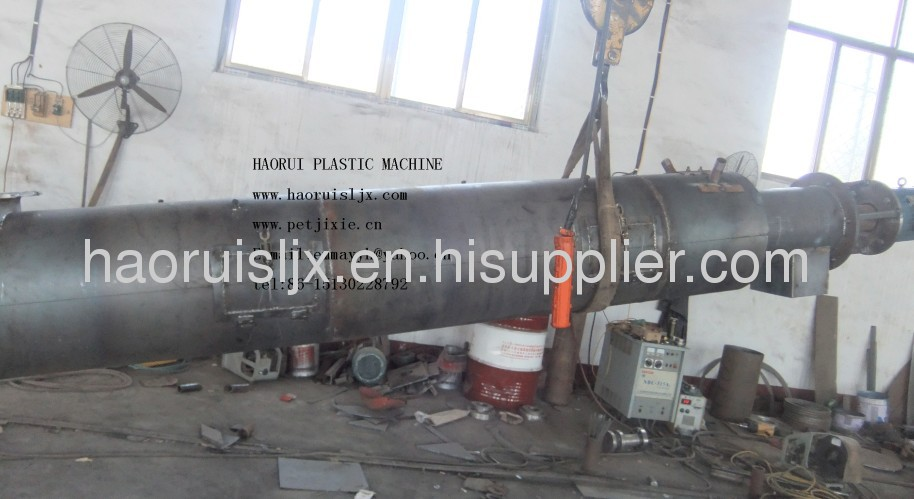 waste plastic recycling force washing machine