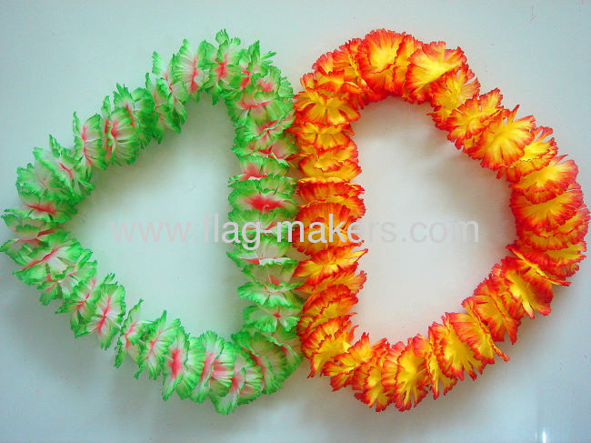 Promotion Beautiful Customized Color Flowergarland