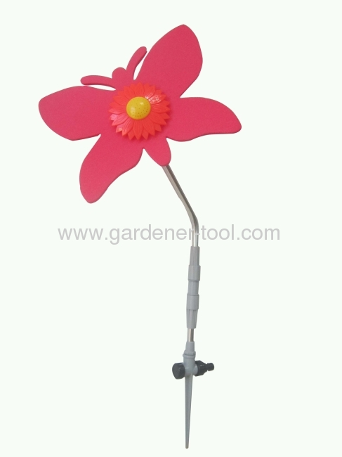Garden Water Rotary Yard Sprinkler With Butterfly Shape For Garden Irrigation