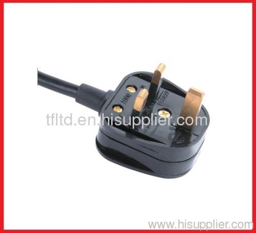 UK rewirable plug mains leads