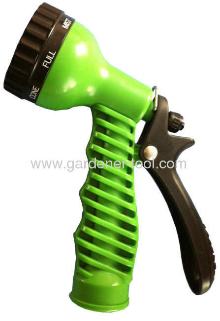 Plastic 7-Pattern Trigger Nozzle With rough non-slip handle