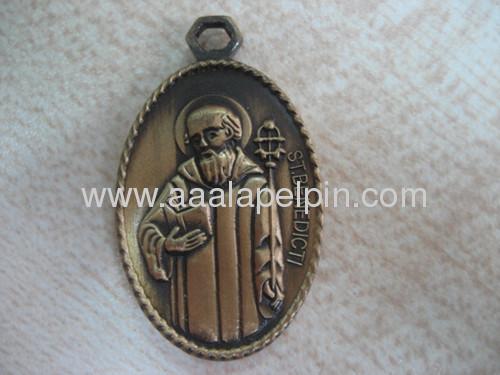 Customized Design Badge Coin Medallion Keychain