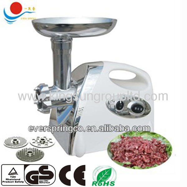 Spray red color Household electric meat grinder