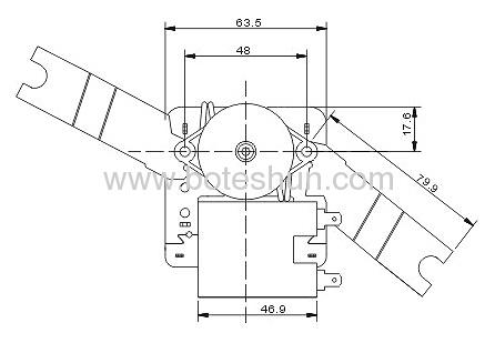 Shaded Pole Motor 20009075A