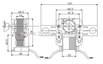 Shaded Pole Motor SM329