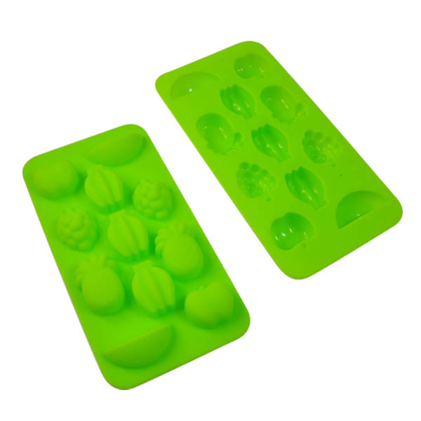 LFGB 100% Silicone Ice Maker Mould for happy life in Fruit shape