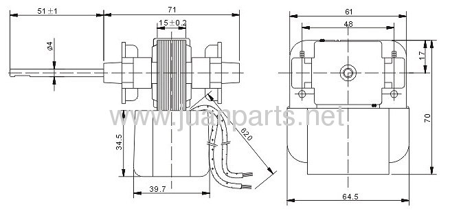 Shaded Pole Motor IS-3215ECB