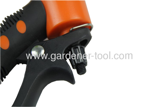 plastic 7-dial function garden trigger nozzle for lawn irrigation