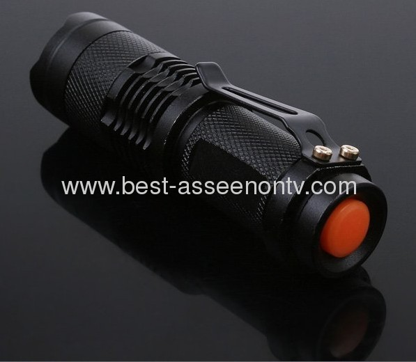 Flashlight Adjustable Focus Zoom Flashlight Waterproof for Sporting camping flash light