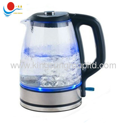 electric kettle with glass 1.7L with CE