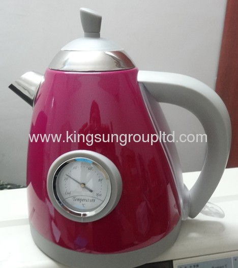 1.2 L with thermometer cordless electric kettle
