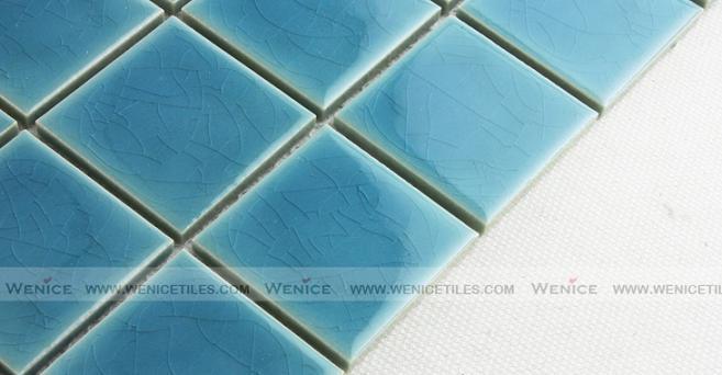 Ocean blue color mosaics 300x300mm