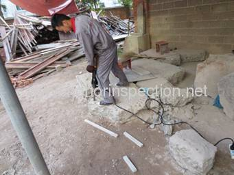 Demolition hammer quality inspection services