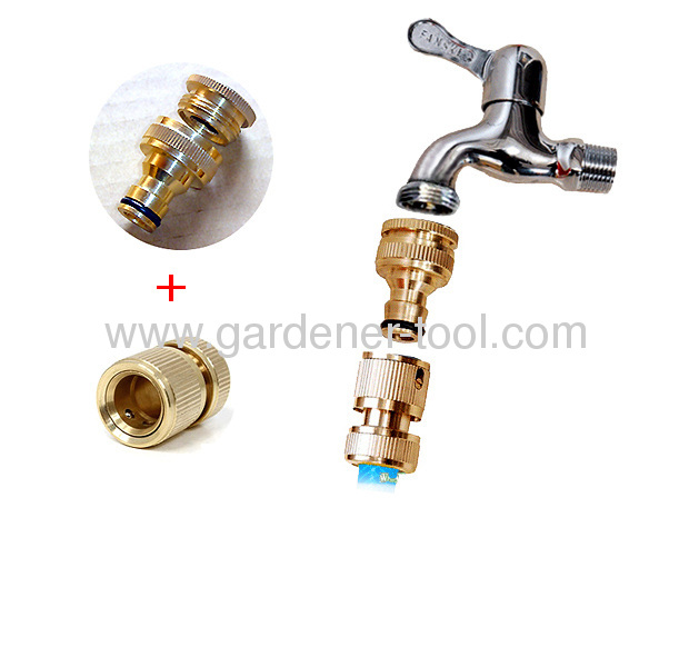Brass 1/2 &3/4Female Threaded Tap Connector