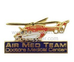 PlaneCloisonne Pin lapel pin die struck pin offset pin lapel pin badges