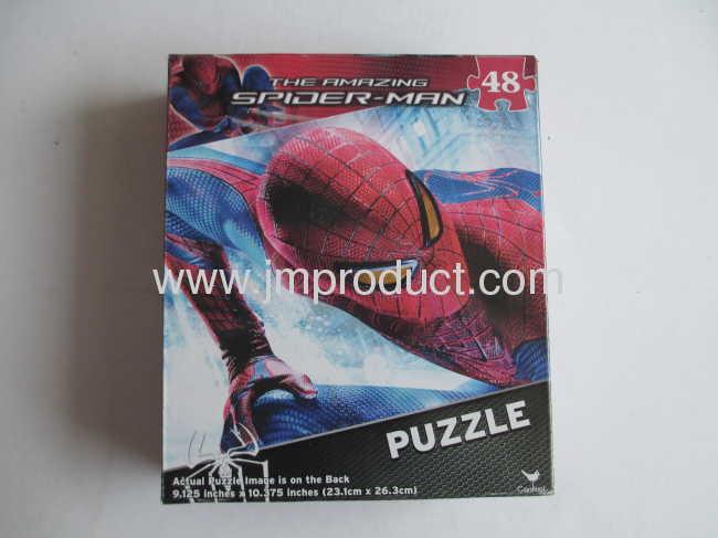 48 piece puzzle in corrugated box