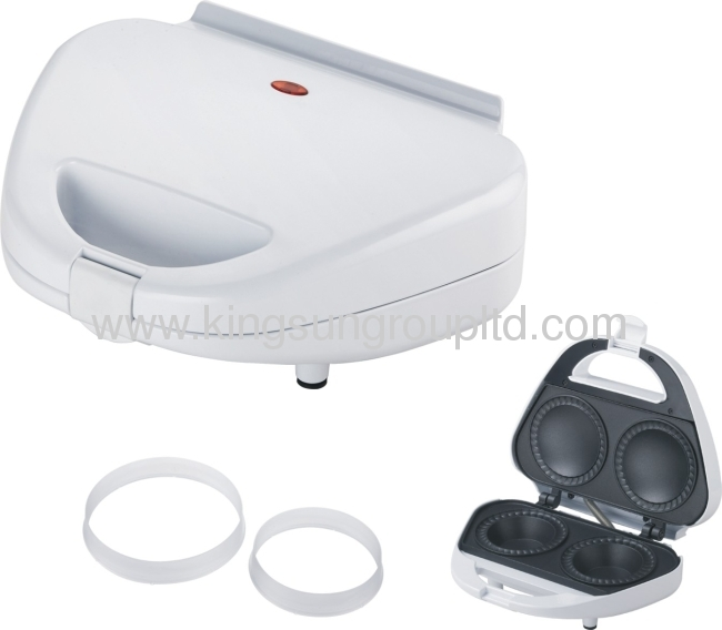 2 silice pie makerwith white color