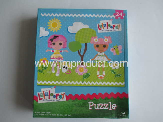 Magical actural puzzle in big box